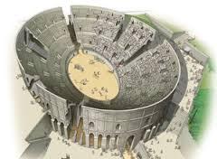 Amphithéatre Saintes reconstitution