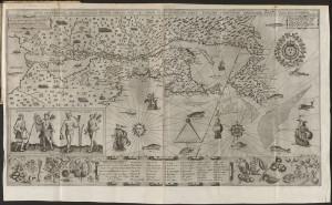 Brouage carte Champlain 1612
