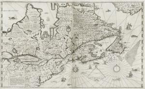 Brouage carte Champlain 1632