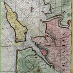 Brouage carte coureau fin XVII°