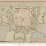 Brouage plan 1630 BNF