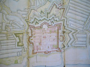 Brouage plan 1730 environ