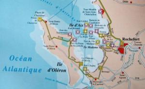 Carte forts rade Oléron-AixJPG