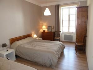 Grande chambre, lit de 140 et lit de 90