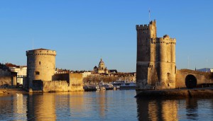 La Rochelle tours entrée port