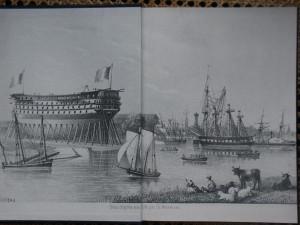 Rochefort bateau en construction
