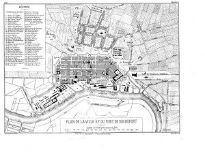 Rochefort plan 1874