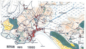 Royan plan Delmas 1860