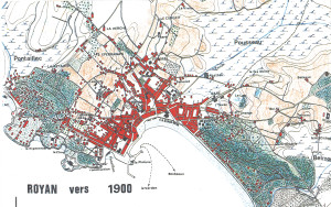 Royan plan Delmas 1900